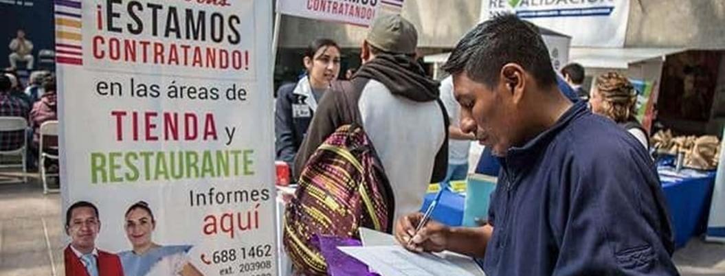 Desempleo se mantiene en 3.5% en México