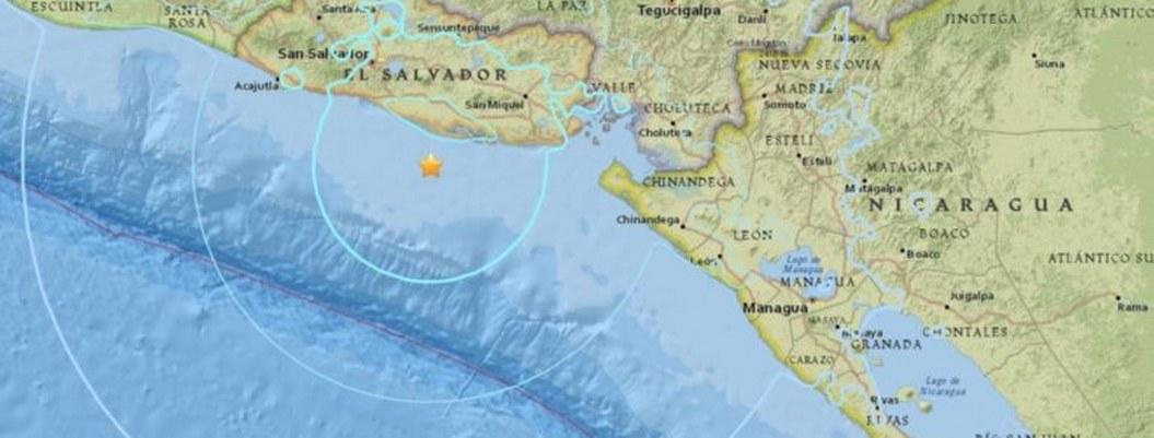 El Salvador registra 14 réplicas tras el sismo de magnitud 6