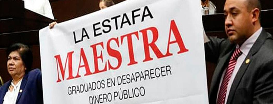 'Estafa Maestra' se fraguó en este edificio de Monterrey
