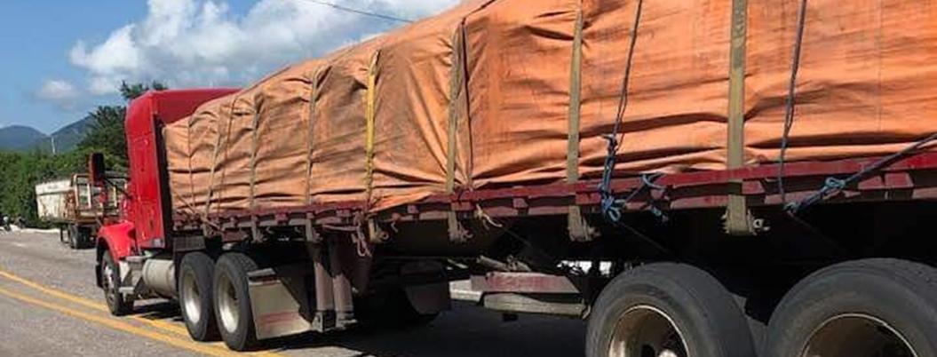 Alcalde de Tlapa y policías resguardan fertilizante contra saqueos