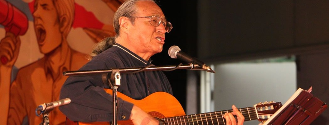 Gabino Palomares, un ícono de la canción de protesta