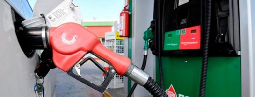 Gasolinas siguen subiendo: la verde 19 centavos, la roja 13