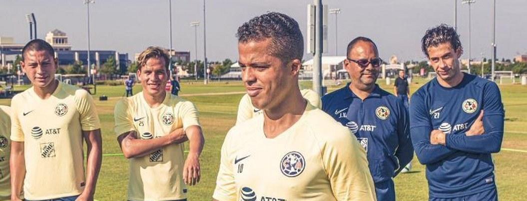 Giovani Dos Santos podría debutar este martes con América ante Pumas
