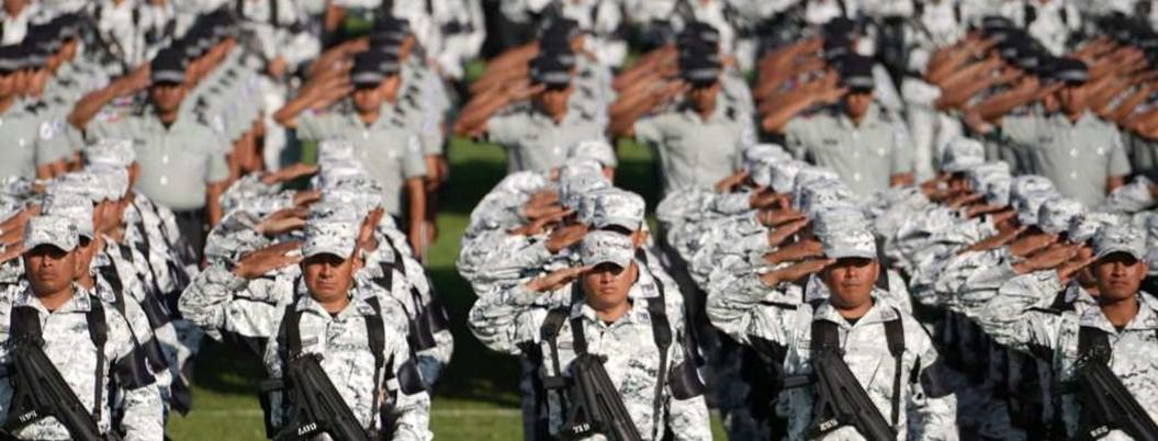 Guardia Nacional quiere convertirse en Carabineros estilo Italia