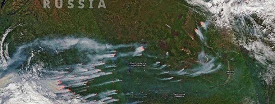 Incendios apocalípticos en el Ártico, prueba de que el planeta sucumbe