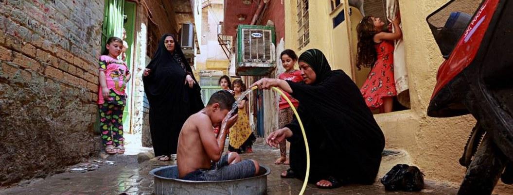 Hierve Irak con temperaturas cercanas a los 50 grados