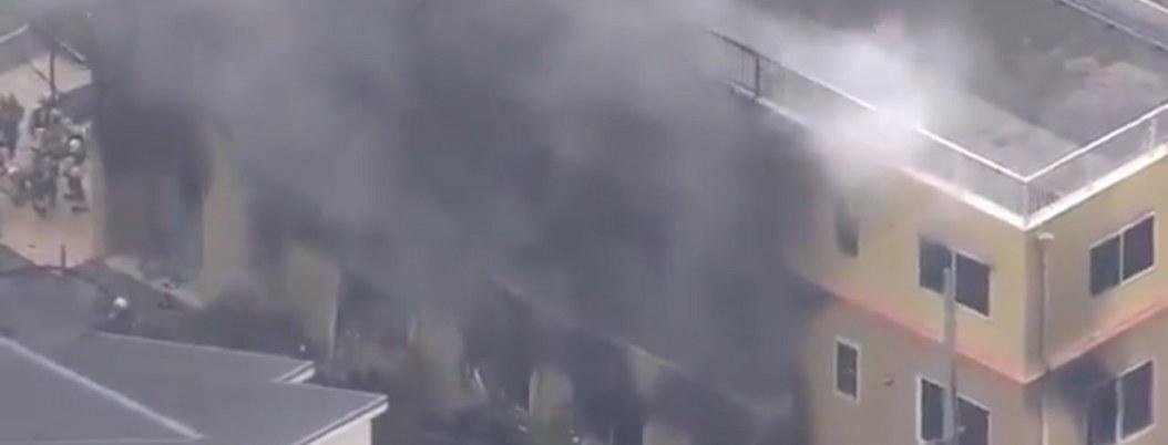 Mueren 13 personas en incendio provocado en estudio de anime en Japón
