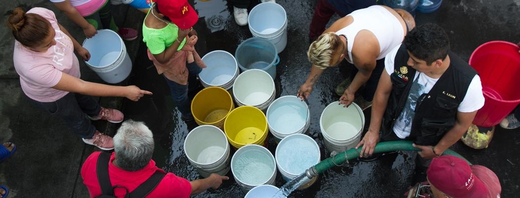 Gobierno va contra venta de agua en la Magdalena Contreras