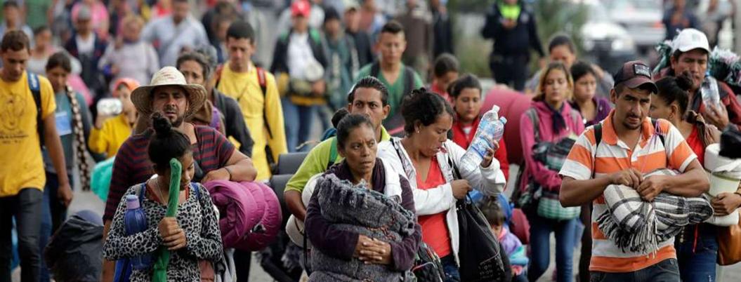 """""""No violaremos derechos humanos de migrantes"""", asevera Andrés Manuel"""
