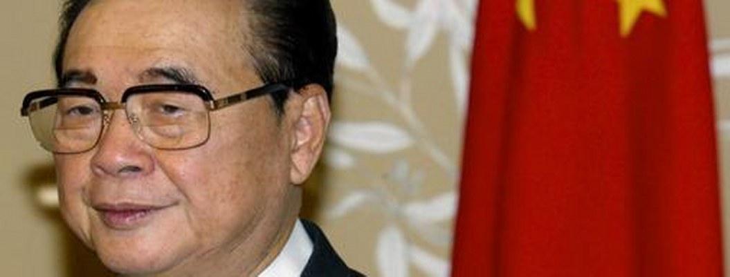 Muere Li Peng, quien ordenó la represión en la plaza de Tiananmen