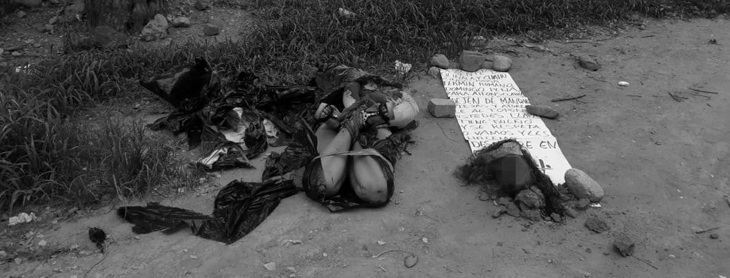Encuentran a una mujer desmembrada en la entrada principal de Tlapa
