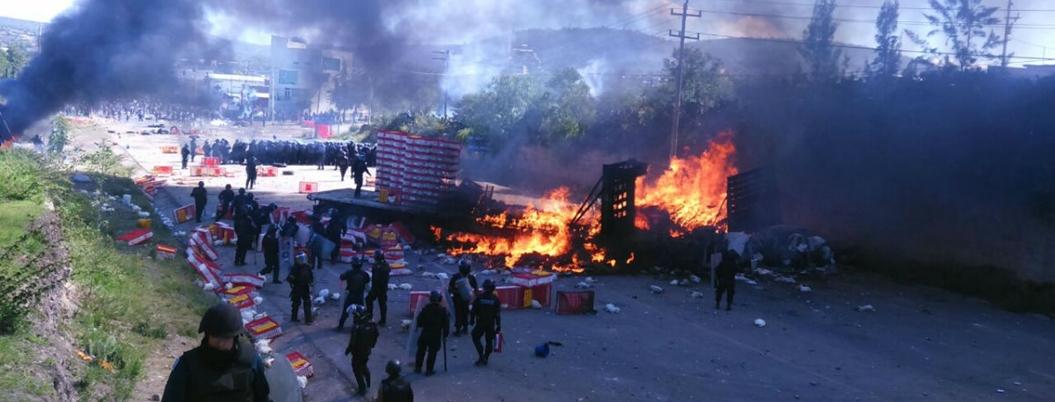 Peña y Chong no declararán por represión en Nochixtlán