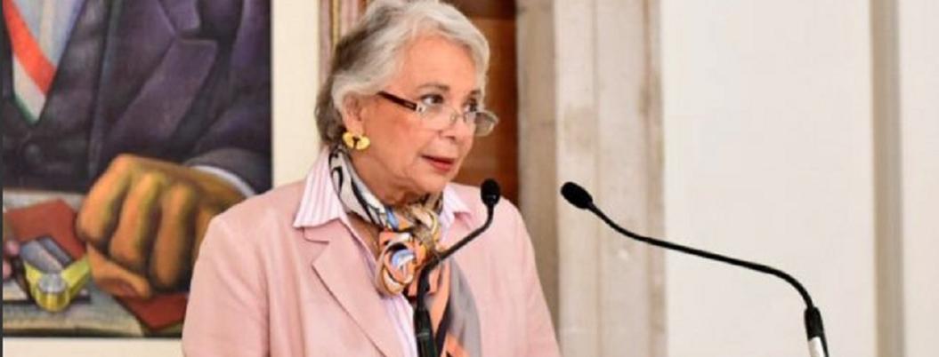 """""""Protestas de policías no afectan gobernabilidad"""": Olga Sánchez"""