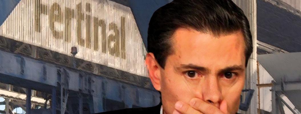 EU investiga a Peña por corrupción de Fertinal y Pemex