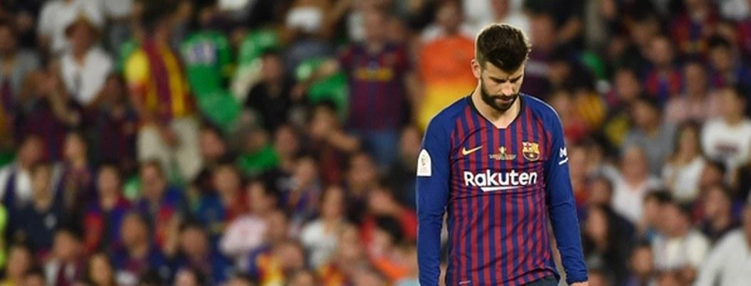 Gerard Piqué sufre molestias en el muslo que le impedirán jugar