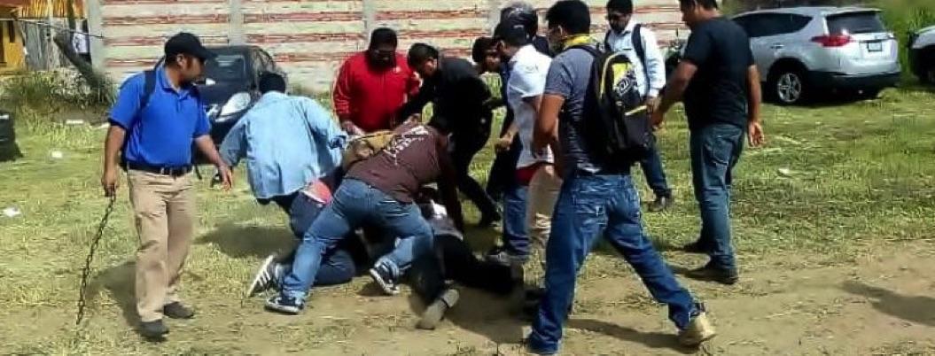 CNTE y agrupación de Gordillo se enfrentan a balazos en Oaxaca