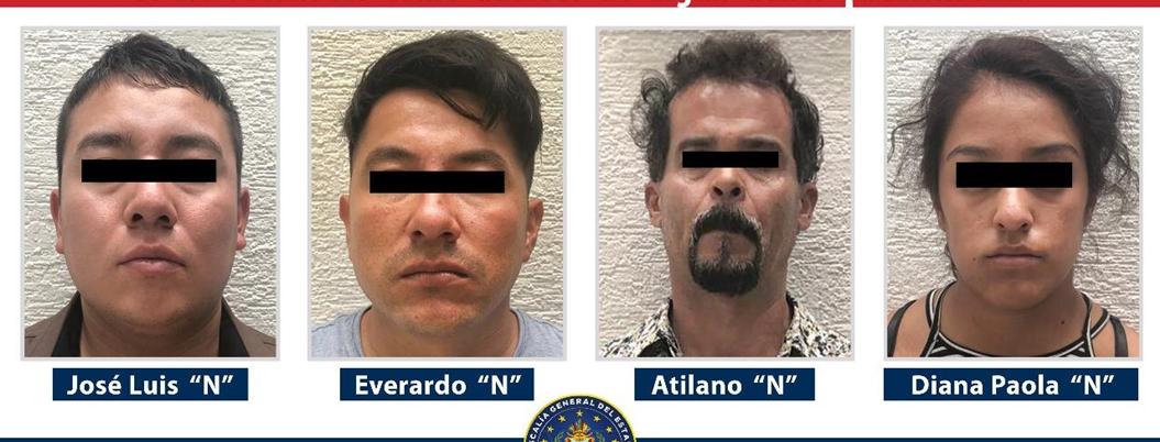 Detienen a 4 secuestradores en Edomex; serían agentes de GN