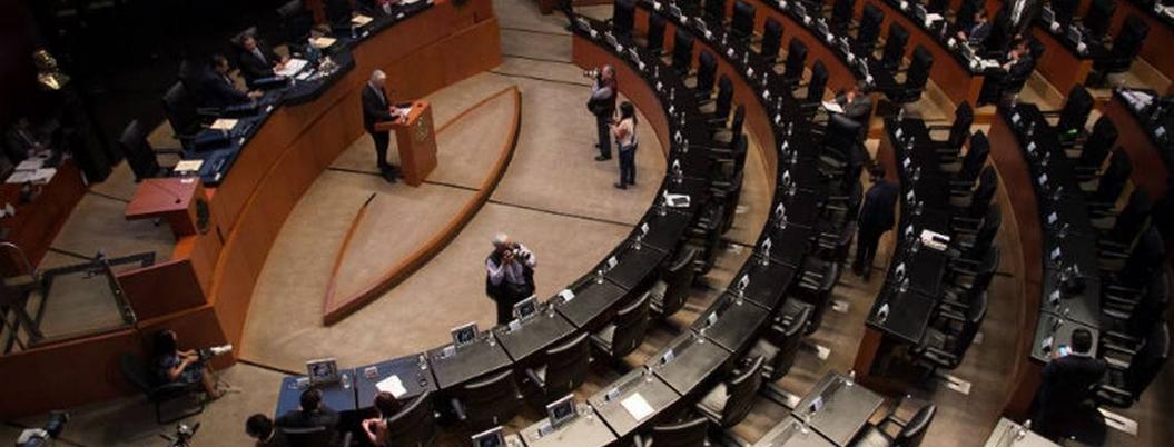 Senadores se van de vacaciones tras periodo extraordinario