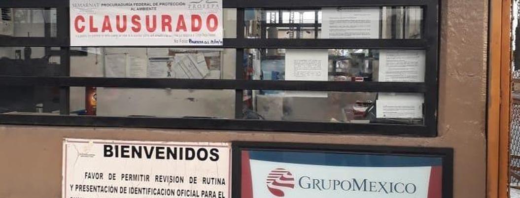 Profepa clausura terminal donde Grupo México derramó tóxicos