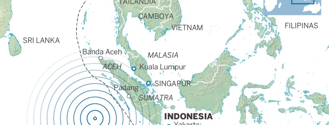 Fuerte sismo enciende alerta de tsunami en Indonesia