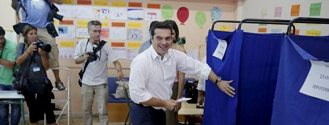 Grecia celebra elecciones adelantadas, sondeos apuntan a conservadores