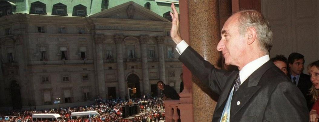 Muere expresidente argentino Fernando de la Rúa, a los 81años