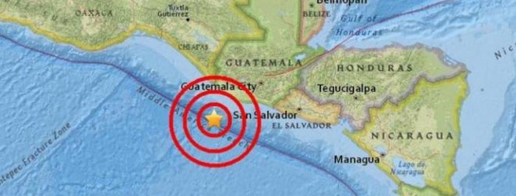 Sismo de 6.3 con epicentro en El Salvador sacude Guatemala
