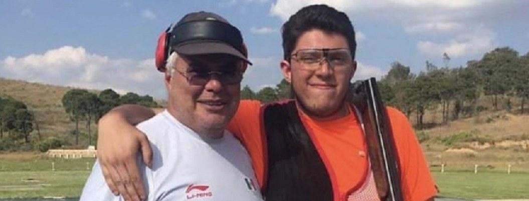 Jorge Martín tirador designado para representar a México en Panamericanos