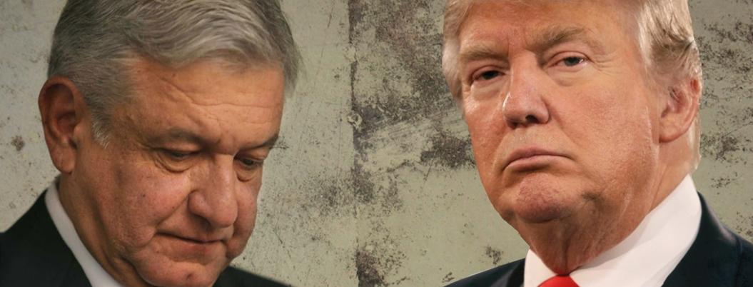 Trump manda en la política migratoria de la 4T, asegura EFE