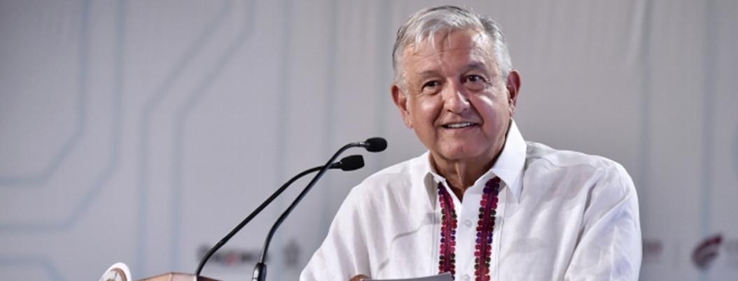 AMLO tocó madera ante recesión económica que podría pegar a México