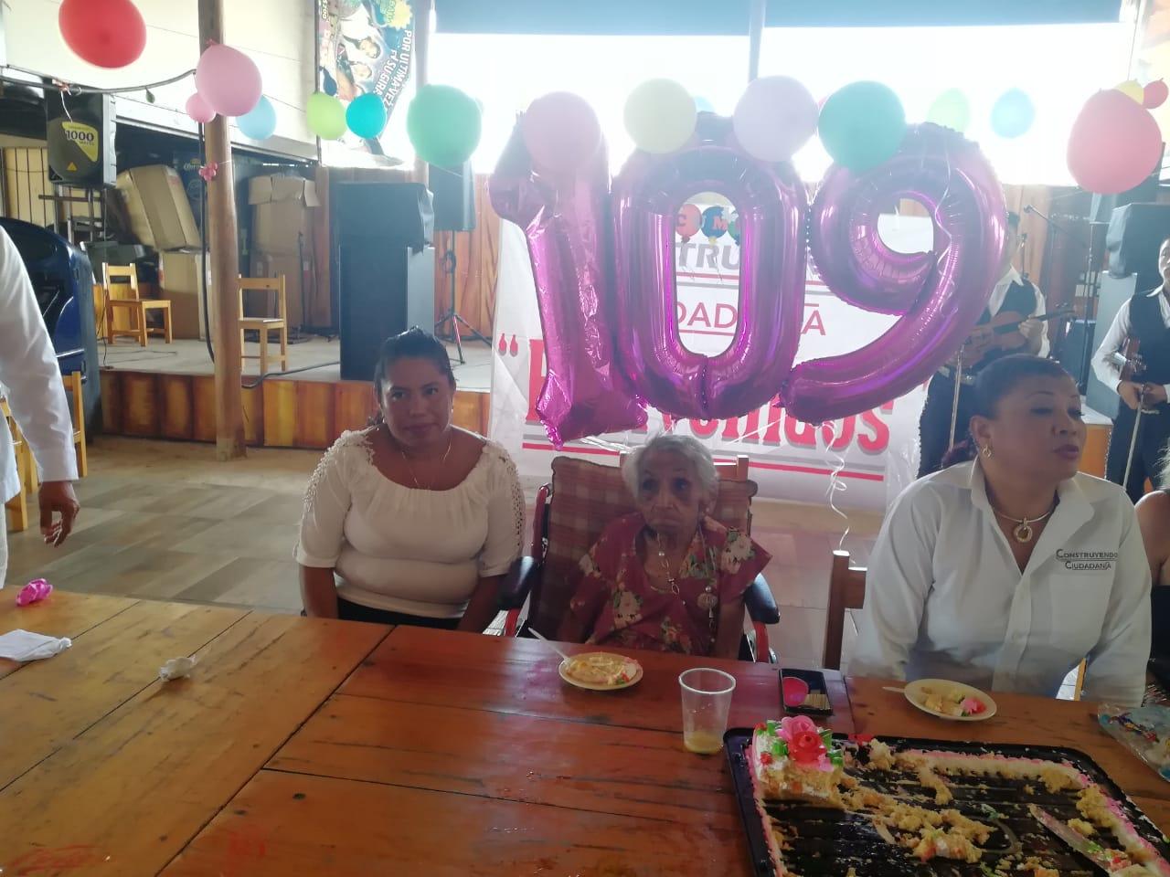 Angelita 109 años 2