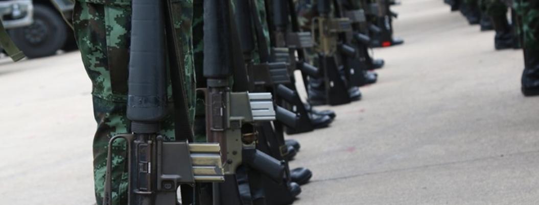 Armas robadas a policías y a militares también alimentan mercado negro