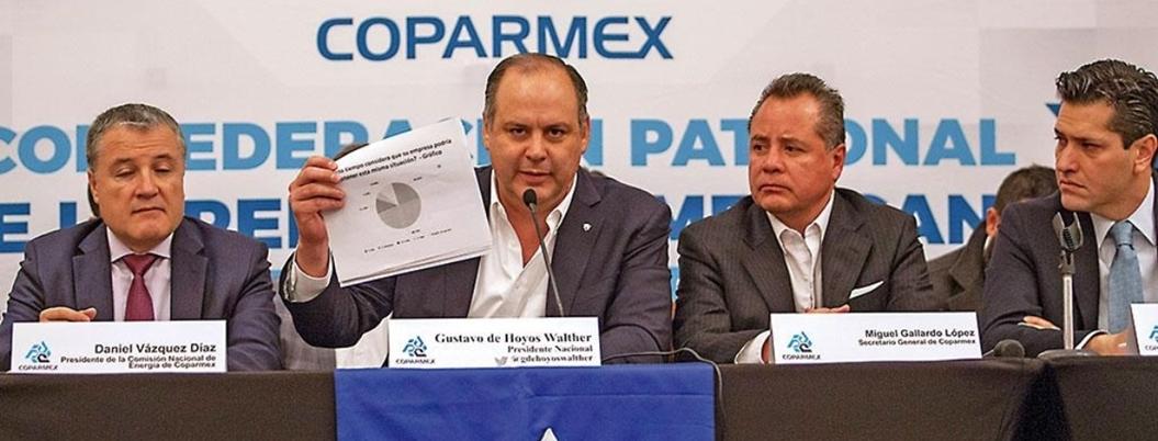 Coparmex pide a AMLO un presupuesto sin populismos ni que los afecte