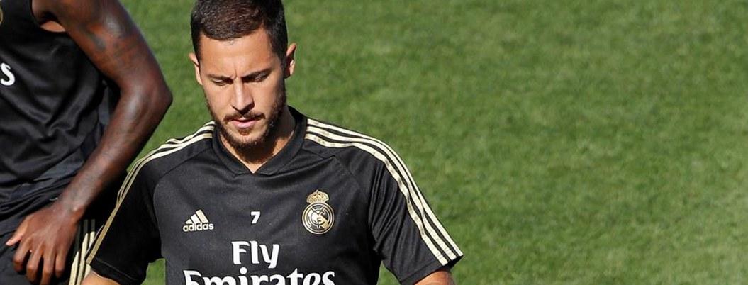 Eden Hazard se lesiona antes de debutar con el Real Madrid