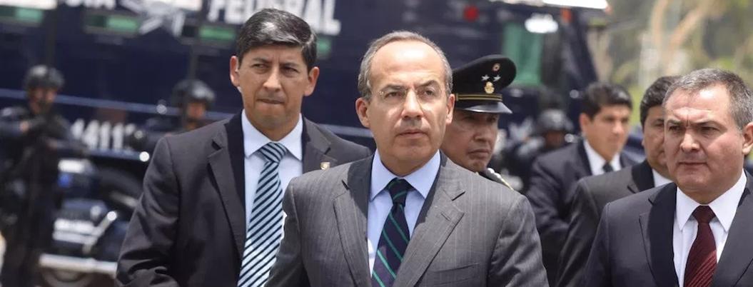 Calderón propone que dinero para jóvenes se invierta en policías