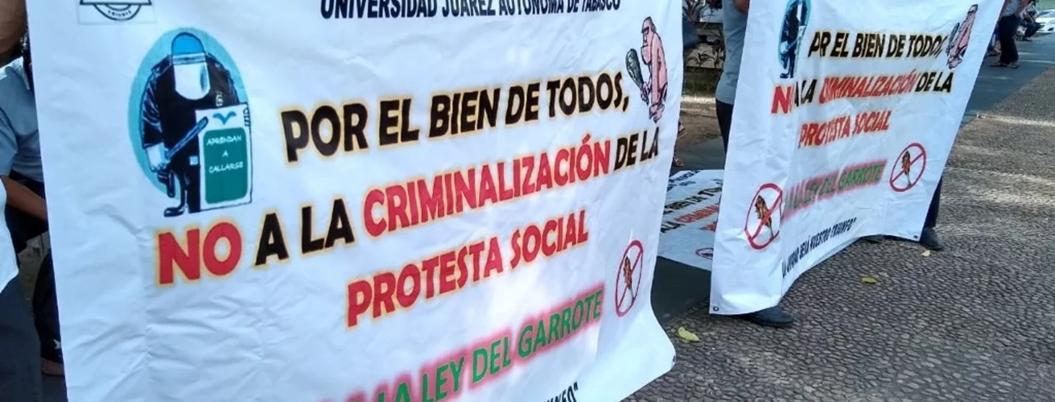 ONU se lanza contra la 'ley garrote' de Tabasco
