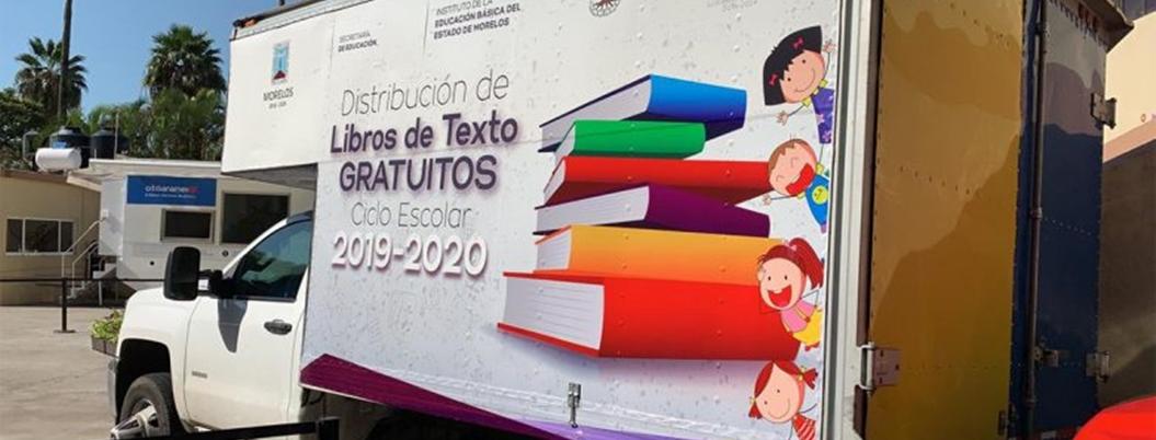 Inicia distribución de libros de texto en Morelos
