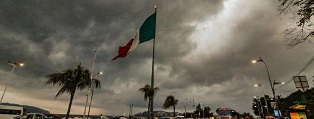 Habrá lluvias ligeras en un Acapulco bajo 31 grados