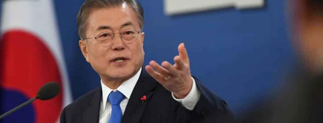 Moon llama a la conciliación para resolver disputa comercial con Japón