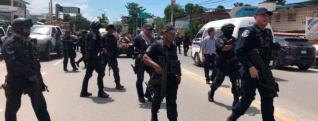 Policía de Guerrero cuidaba arsenal en completa ignorancia, se eximen