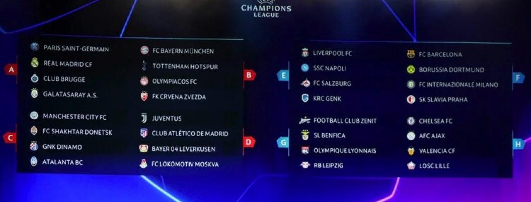 Definen grupos de la Champions; a Barcelona le toca el de la muerte
