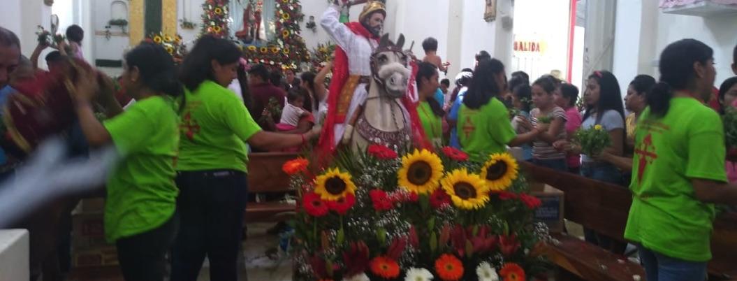 Celebración del apóstol Santiago en Quechultenango: sincretismo vivo