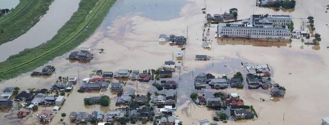 Japón en alerta máxima por lluvias torrenciales, evacúan a millones