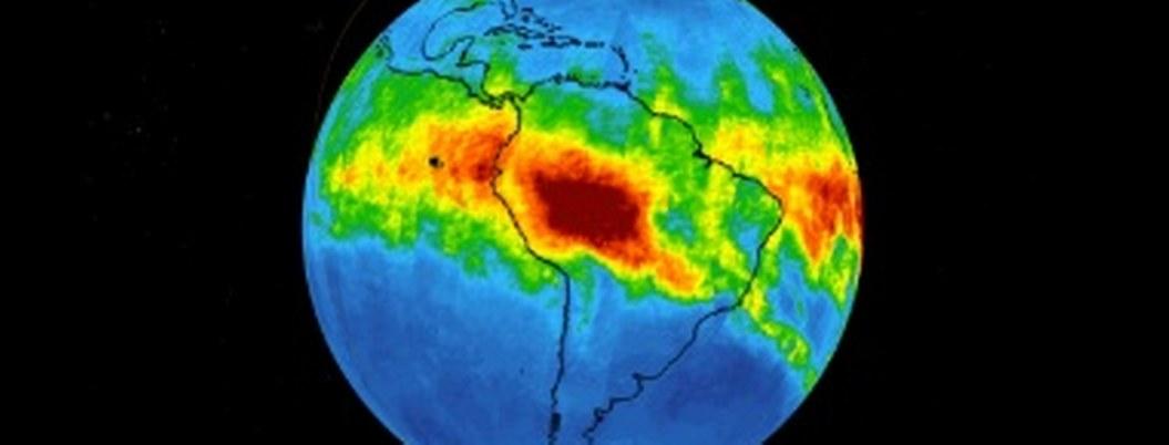Así se mueve monóxido de carbono en atmósfera por incendio en Amazonia