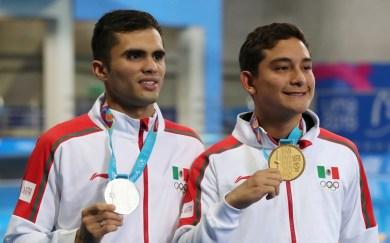 México medalla de oro.