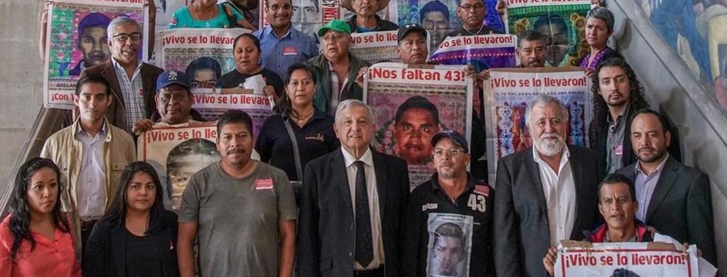 Obrador cataloga caso Ayotzinapa como asunto de justicia y humanismo