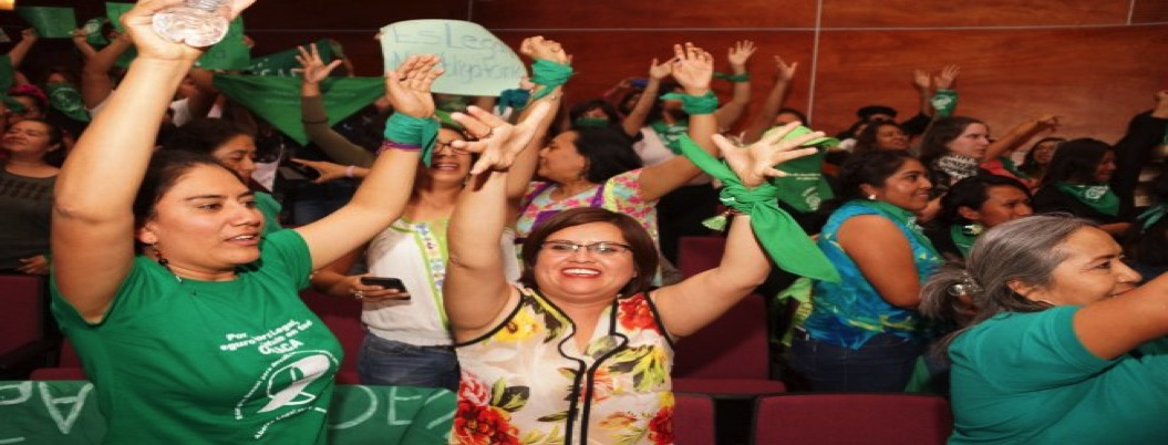 Entra en vigor reforma que legaliza el aborto en Oaxaca