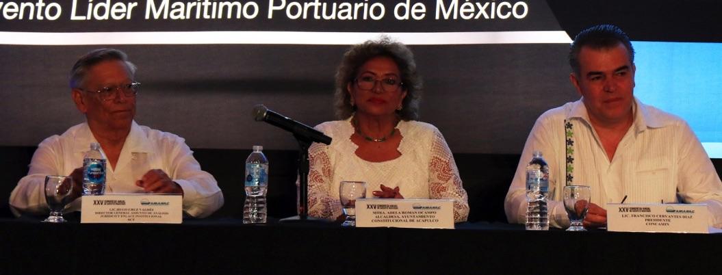 Acapulco es seguro, dice alcaldesa ante agentes navieros