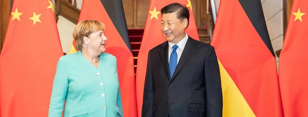 Merkel advierte a China que cuidar el clima es obligación de todos