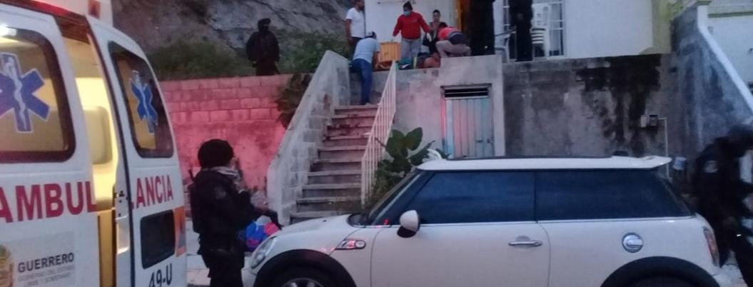 Asesinan a hombre mientras llevaba a sus hijos a escuela en Chilpancingo